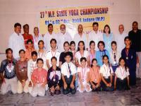 27th M.P. State Yoga Championship - 2008 - 2009