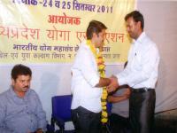 30th M.P. State Yoga Championship - 2011 - 2012
